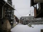 Arganza bajo la nieve. 21 dic. 2009. Foto: Enrique L. Manzano.