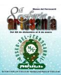 Cartel de la VIII Feria de Artesanía 'Ciudad de Ponferrada'. 22 dic. 2010 - 5 enero 2011.
