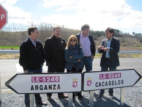 Inauguración del desvío a Canedo. 21 marzo 2011. Fuente: Bierzocomarca.eu.