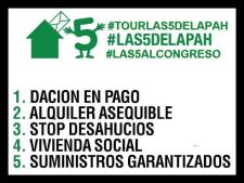 #las5alCongreso. 2016. Facebook.com.