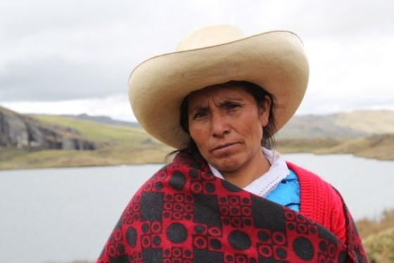 Máxima Acuña, premio Golman 2016.