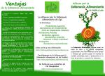 Triptico I. Alianza por la Soberanía Alimentaria de los Pueblos. 2010.