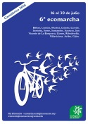 Cartel. Ecomarcha. 16-30 jul. 2016. Ecologistas en Acción.