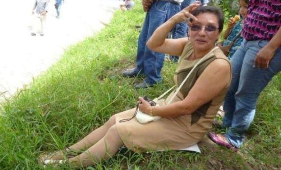 Lesbia Urquía era parte del movimiento indígena hondureño desde 2009 y se oponía a la construcción de una represa hidroeléctrica. Twitter.
