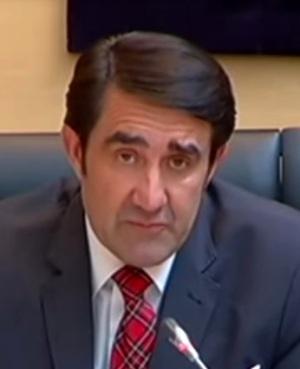 Juan Carlos Suárez-Quiñones, consejero de Fomento y Medio Ambiente de la Junta de CyL. 2015. Youtube.com.