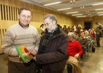 Marc Viader y Santiago Rodríguez Magallón, en un homenaje al último. Diariodeleon.es. Foto: Jesús.