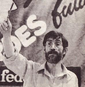 Santiago Rodrríguez. Magallón, en una foto de juventud.