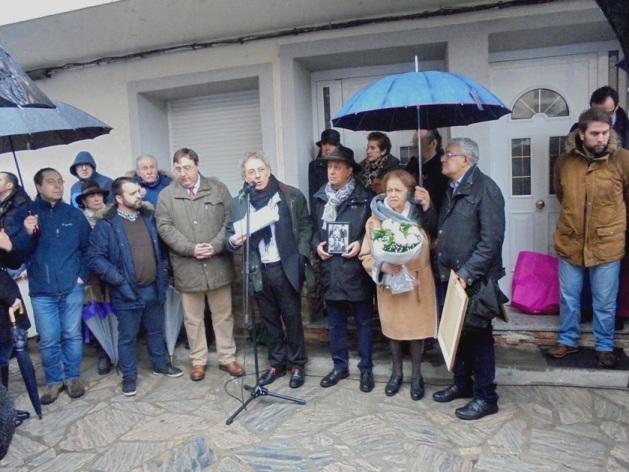 Homenaje a los represaliados. Villafranca del Bierzo, 4 febr. 2017