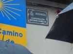La nueva placa Corporación Antonio Gabelas. Villafranca del Bierzo, 4 febr. 2017